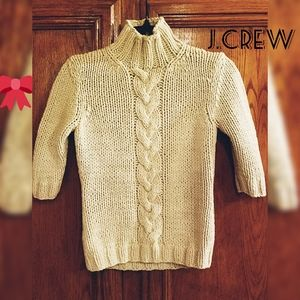 J.CREW turtleneck knitted shirt sweater